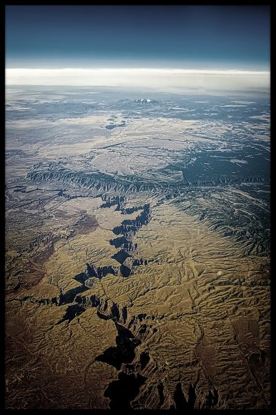 Grand Canyon Aerial Poster