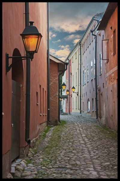 Finland Old Town Poster