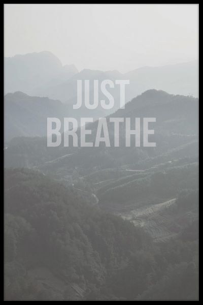 Just Breathe Poster