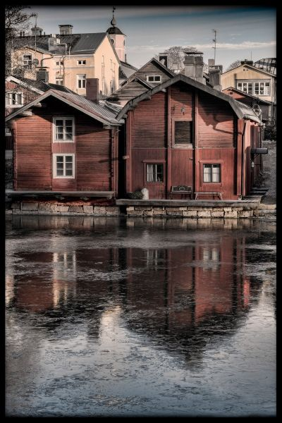 Porvoo Old Town Poster