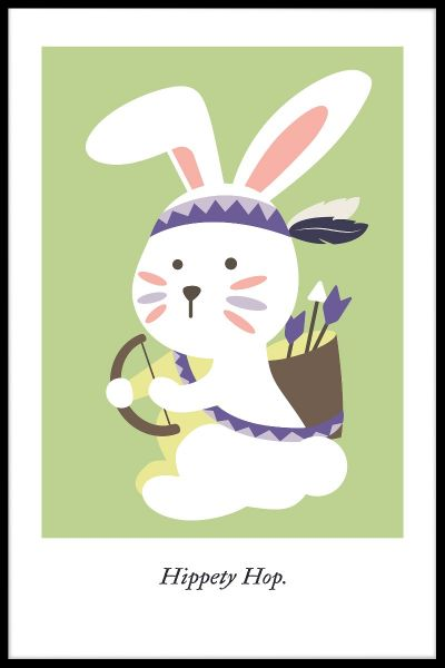 Hippety Hop Poster
