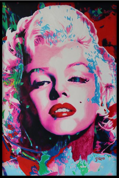 Marilyn Monroe Abstract Poster