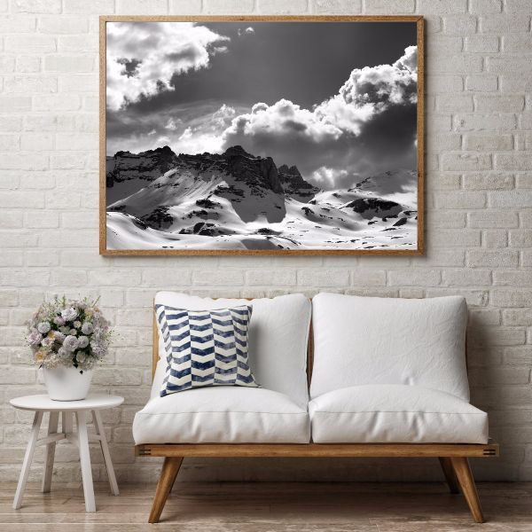 Snowy Mountains Print