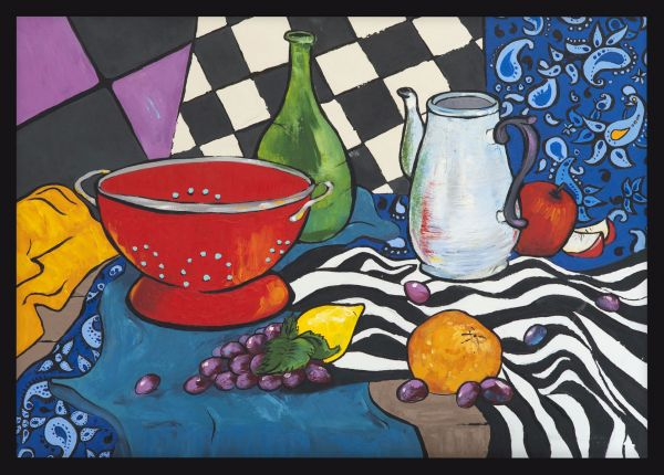 Fauvism Kitchen Oil Painting Poster