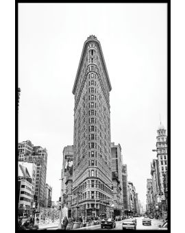 Flat Iron Building NYC Poster