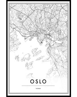 Oslo Map Poster
