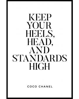 Keep Your Heels Head And Poster