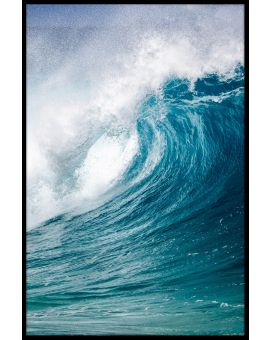Breaking Wave Poster