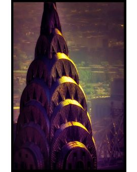Chrysler Building N02 Poster