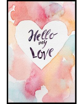 Hello My Love Poster