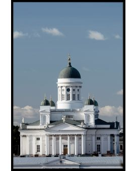 Helsinki Cathedral N04 Poster