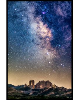 Milkyway Night Poster