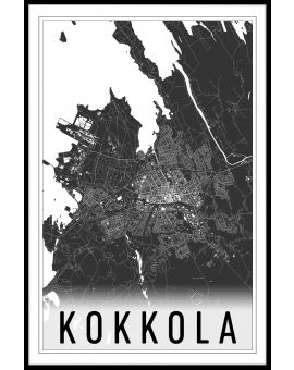 Kokkola Map Poster