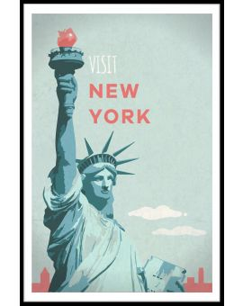 Visit New York Poster