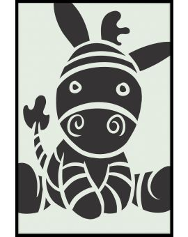 Cute Donkey Poster