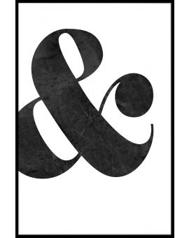 Ampersand Poster