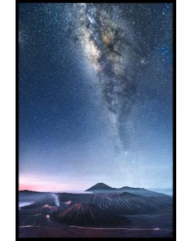 Milky Way Java Indonesia Poster