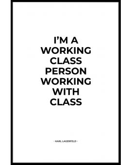 Working With Class Poster