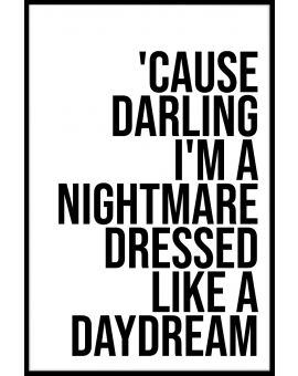 I'm a Nightmare Poster