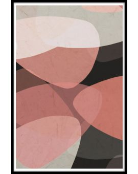 Triangular Abstract Shapes Poster