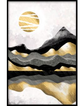 Mountain Art Poster