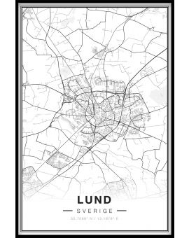Lund Map Poster