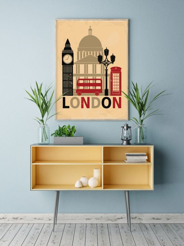 London Illustration Tavla