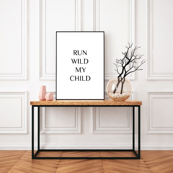 Run Wild My Child Tavla