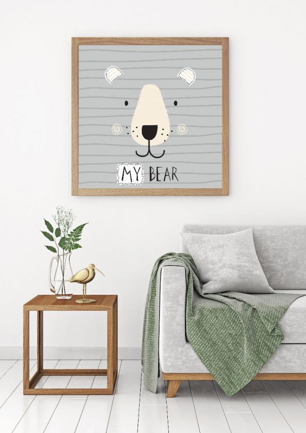My Bear Cute Illustration Tavla