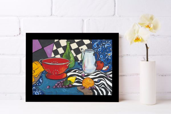 Fauvism Kitchen Oil Painting Tavla