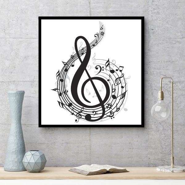 Music Note Illustration Tavla