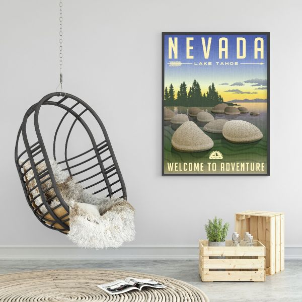 Nevada State Illustration Tavla