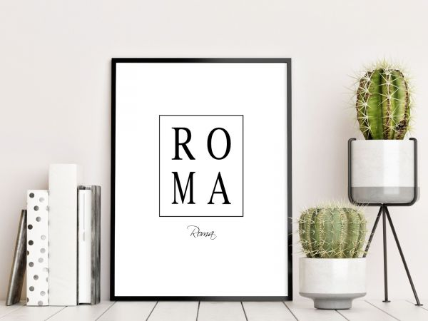 Roma Box Text Tavla