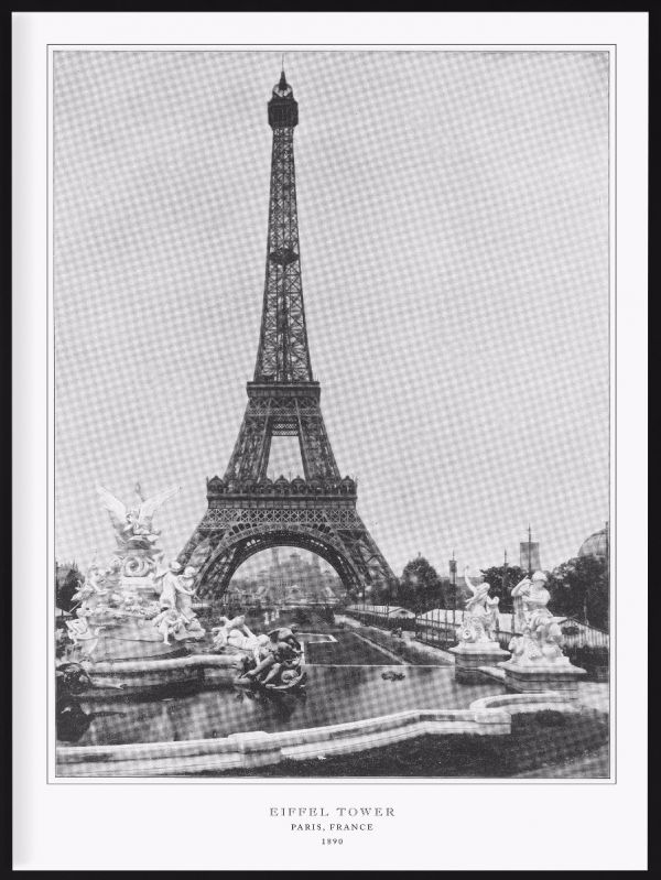 Eiffel Tower 1890 Photo Poster