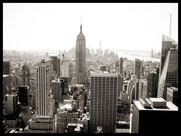 NYC Empire State Building Poster