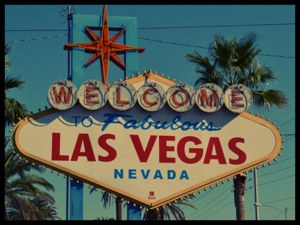 Vintage Welcome To Las Vegas Poster