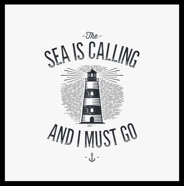 Sea Is Calling Poster