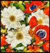 Flower Bouquet Painting Poster