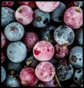 Frosted Berries Poster